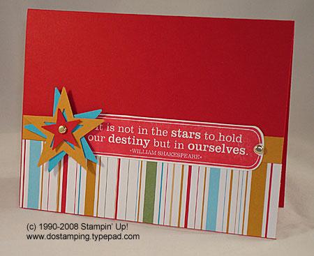 stampin up, dostamping, dawn olchefske, spinning star tutorial