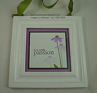 stampin up, dostamping, dawn olchefske, demonstrator, inspired by nature, home decor