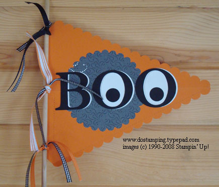 Boo-Pennant