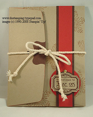 9th Day Of Christmas Dont Open Until Christmas Envelope