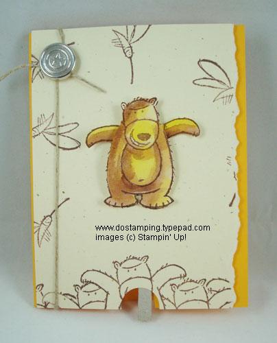 Flying-Bear-Card