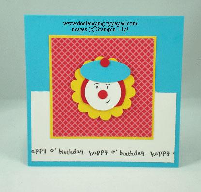 Clown-Card