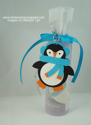 stampin up, dostamping, dawn olchefske, demonstrator, punch art, penguin