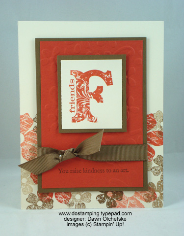 stampin up, dostamping, dawn olchefske, demonstrator, vintage vogue