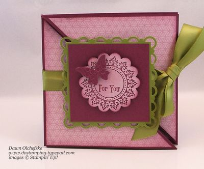 How-To Video: Triangle Tri-Fold Card - Dostamping With Dawn