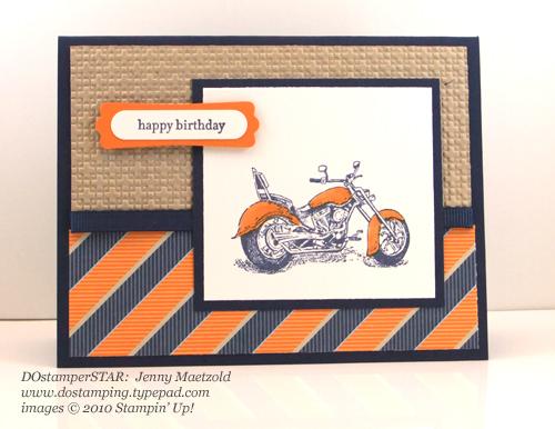 Jenny-Motorcyle