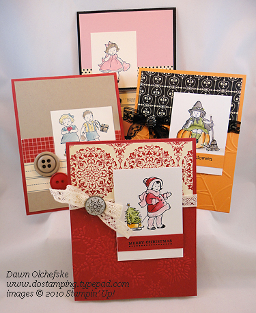 stampin up, dostamping, dawn olchefske, greeting card kids, gift, video, FREE tutorial