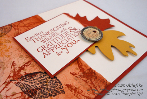 Stampin' Up!'s French Foliage in Review