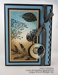 Stampin' Up! DOstamping, Dawn Olchefske, demonstrator, French Foliage