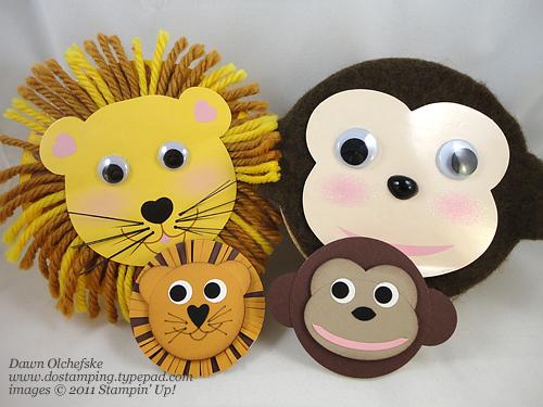 Lion-&-Monkey-Punch-Art