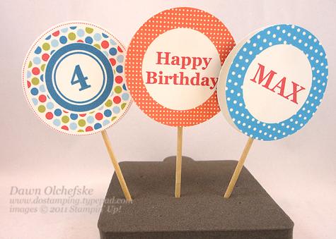 Cupcake-Markers