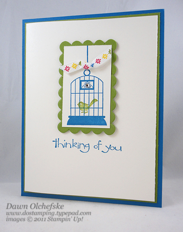 stampinup, dostamping, dawn olchefske, artistic etchings, aviary