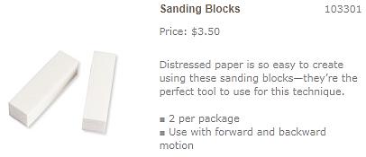 Sanding-Blocks