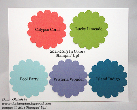 Let Me Introduce You To Stampin Up 2011 In Colors Dostamping