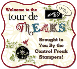 Control Freak Welcome, Stampin' Up!, DOstamping, Dawn Olchefske