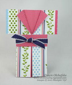 Kimono-Card