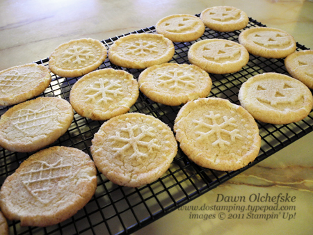 What Made Them Even Better Was The Fun We Had Stamping With New Stampin Up Sweet Pressed Cookie Stamps SO MUCH FUN Were Giddy Delight