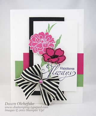stampin up, dostamping, dawn olchefske, demonstrator, fabulous florets