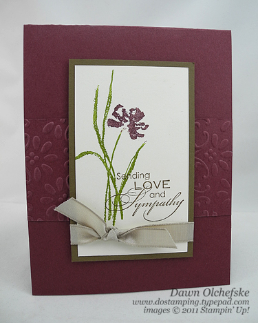 Up love amp sympathy 3 quick cards dostamping with dawn stampin up