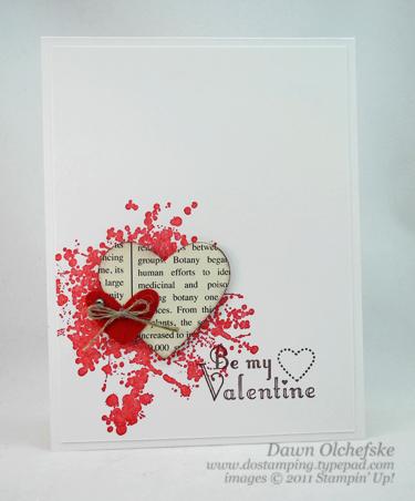 stampin up, dostamping, dawn olchefske, demonstrator, delightful dozen, valentine