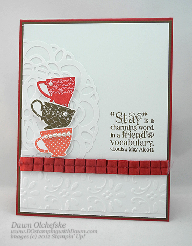 Club Projects 2012 - DOstamping with Dawn, Stampin' Up! Demonstrator