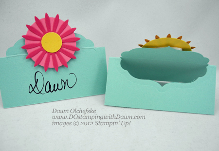 stampin up, dostamping, dawn olchefske, demonstrator, big shot, label collection framelits, place cards