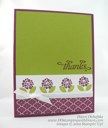 stampin up, dostamping, dawn olchefske, demonstrator, bright blossoms, summer smooches dsp