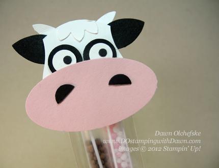 stampin up, dostamping, dawn olchefske, demonstrator, cow punch art