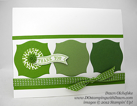 stampin up, dostamping, dawn olchefske, demonstrator, itty bitty banners, bitty banners, apotecary accents framelits, gumball green