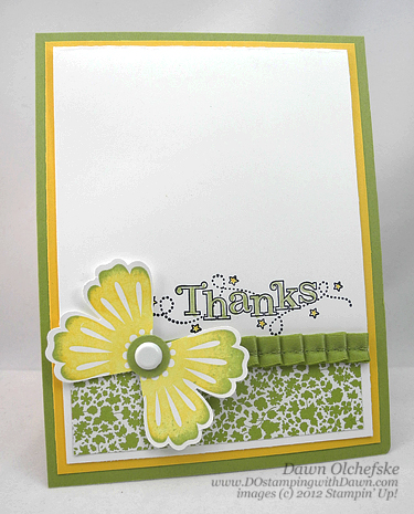 stampin up, dostamping, dawn olchefske, demonstrator, punch art, outlined occasions, mixed bunch, blossom punch