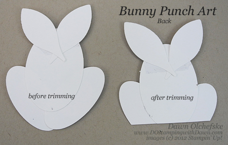 stampin up, dostamping, dawn olchefske, demonstrator, punch art bunny