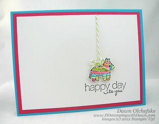 stampin up, dostamping, dawn olchefske, demonstrator, packed for birthday, birthday