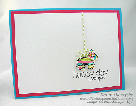 stampin up, dostamping, dawn olchefske, demonstrator, packed for birthday, friendly phrases