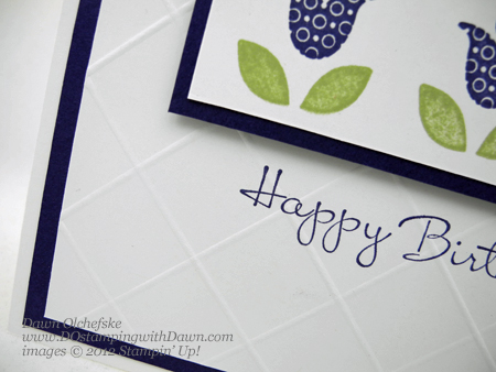 stampin up, dostamping, dawn olchefske, demonstrator, simply scored diagonal plate, diamond background, bright blossoms