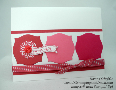 stampin up, dostamping, dawn olchefske, demonstrator, itty bitty banners, bitty banners, apotecary accents framelits, primrose petals