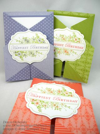 stampin up, dostamping, dawn olchefske, demonstrator, apothecary art, double gate fold