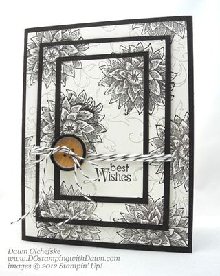 stampin up, dostamping, dawn olchefske, demonstrator, creative elements, triple time stamping