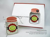 Stampin' Up! DOstamping, Dawn Olchefske, demonstrator, Perfectly Preserved, Cannery Framelits