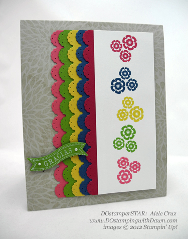 stampin up, dostamping, dawn olchefske, demonstrator, 2012/2014 in colors, betsys blossoms, adele cruz