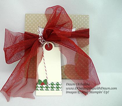 stampin up, dostamping, dawn olchefske, demonstrator, season of sweets, treat envelope, christmas