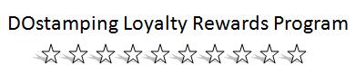 DOstamping Loyalty Rewards Program #dostamping