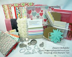 Stampin' Up! product share, ribbon share, spring catalog, DOstamping, Dawn Olchefske, Demonstrator