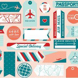 Sent with Love DSP Favorite, stampin up, dawn olchefske, dostamping, travel