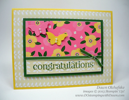 stampin up, dostamping, dawn olchefske, demonstrator, spring catalog, flower fair simply scrappin kit, curly cute, bitty butterfly
