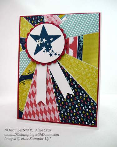 stampin up, dostamping, dawn olchefske, demonstrator, adele cruz, patio party dsp