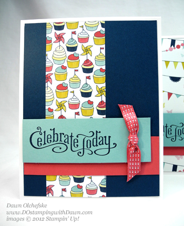 stampin up, dostamping, dawn olchefske, demonstrator, perfectly penned, patio party dsp
