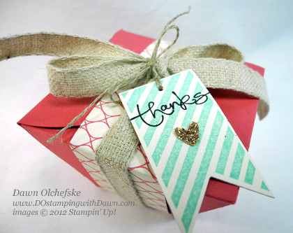 stampin up, dostamping, dawn olchefske, demonstrator, hearts a flutter, take out box, more amore specialty dsp, petal cone die, big shot. packaging