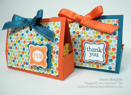 dawn olchefske, demonstrator, dostamping, packaging, pretty petites, sale-a-bration, simply scored, stampin up, sycamore street, treat box