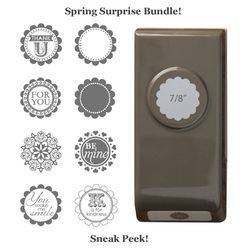 stampin up, dostamping, dawn olchefske, demonstrator, special, Spring Surprise Bundle, A Round Array stamp set, 2013/2014 Annual Catalog