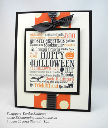 stampin up, dostamping, dawn olchefske, demonstrator, denise sullivan, toxic frameable digital designer template, halloween